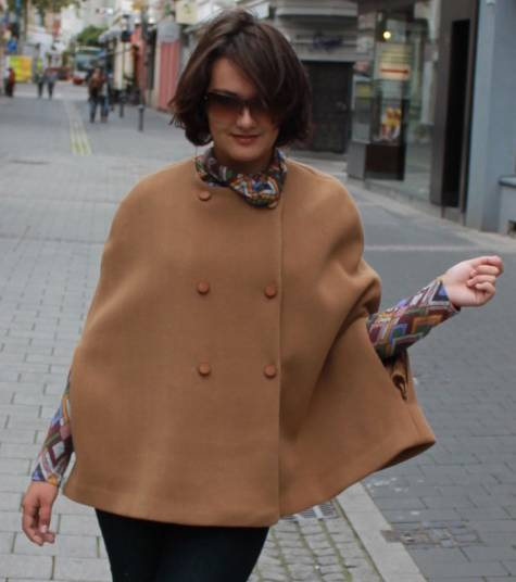 Cape-Kreationen aus der burda style Community