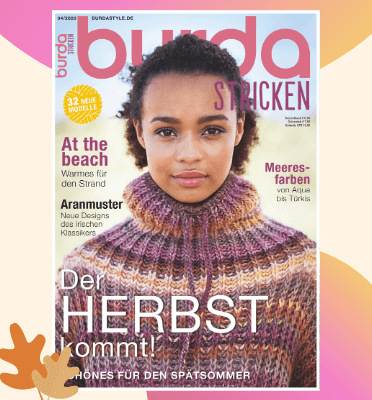 burda stricken Magazin
