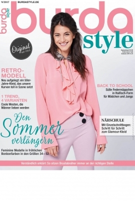 burda style September-Ausgabe 2017